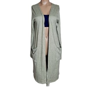 NWOT Acemi knit cardigan cozy green size S